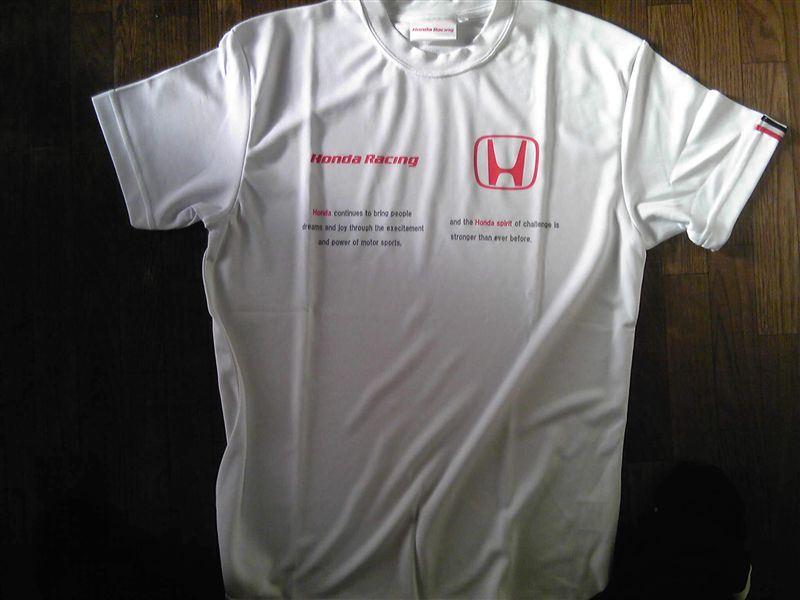 Honda Racing Tシャツ(吸汗速乾素材)