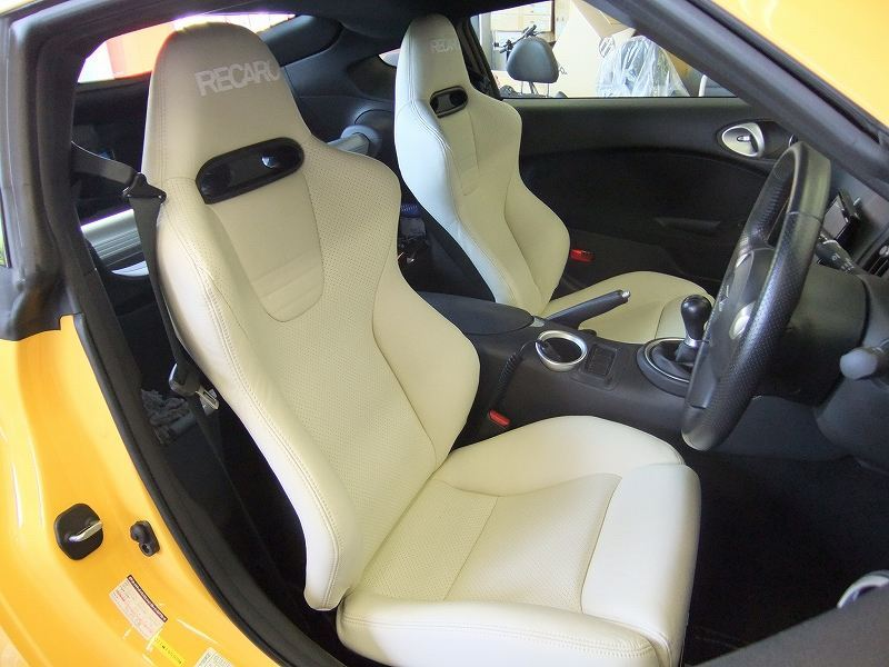 RECARO ASM Limited edition Model SP-JC ASM LIMITED Premium White Leather