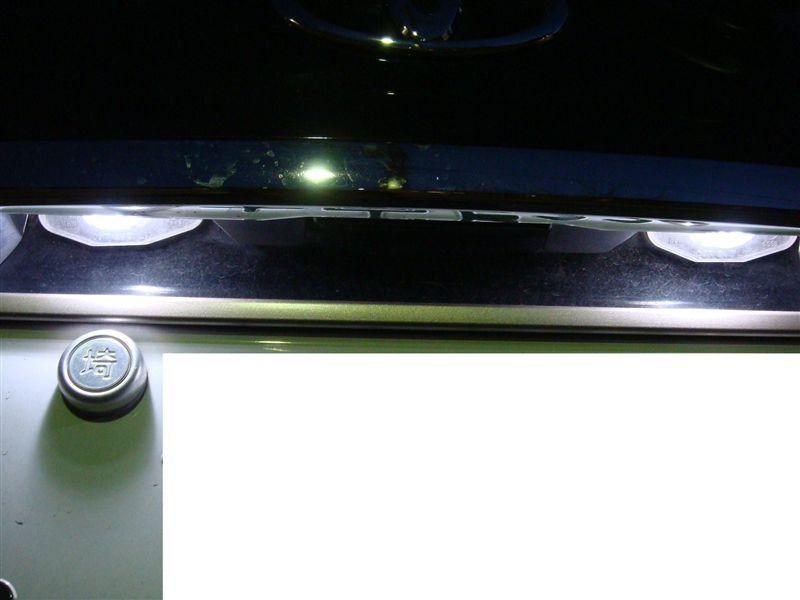 Drei LEDランプ T10