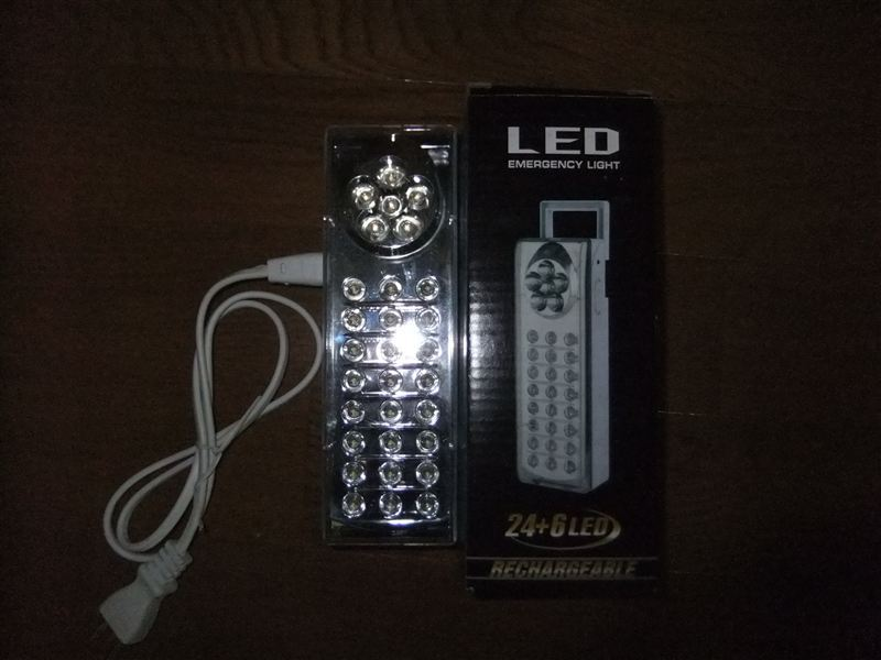 6&24LED 充電式ライト