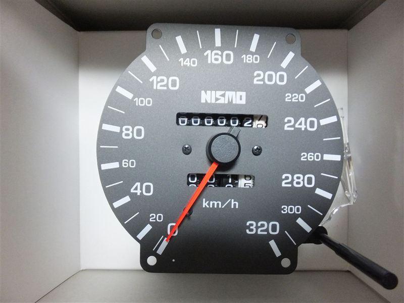 320km/hメーター