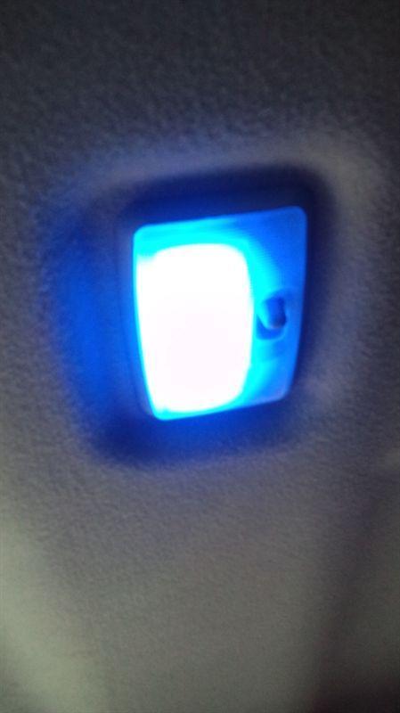 LED ルームランプ ブルー