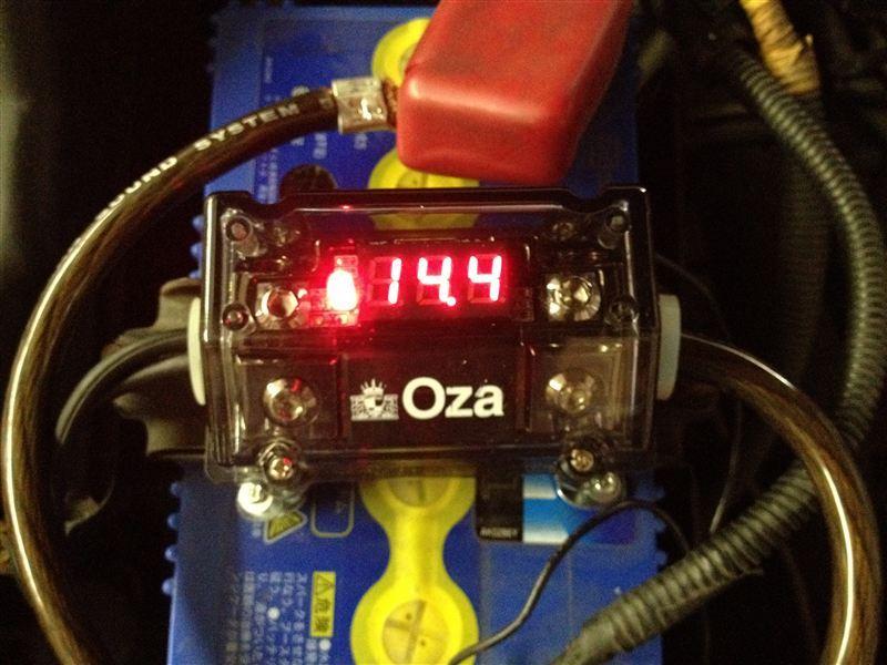 電圧計内蔵ヒューズブロック Oza ZEP-FB0101V