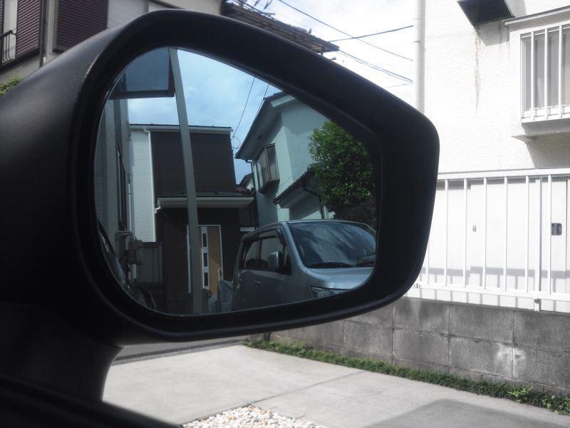 広角あおいろ鏡