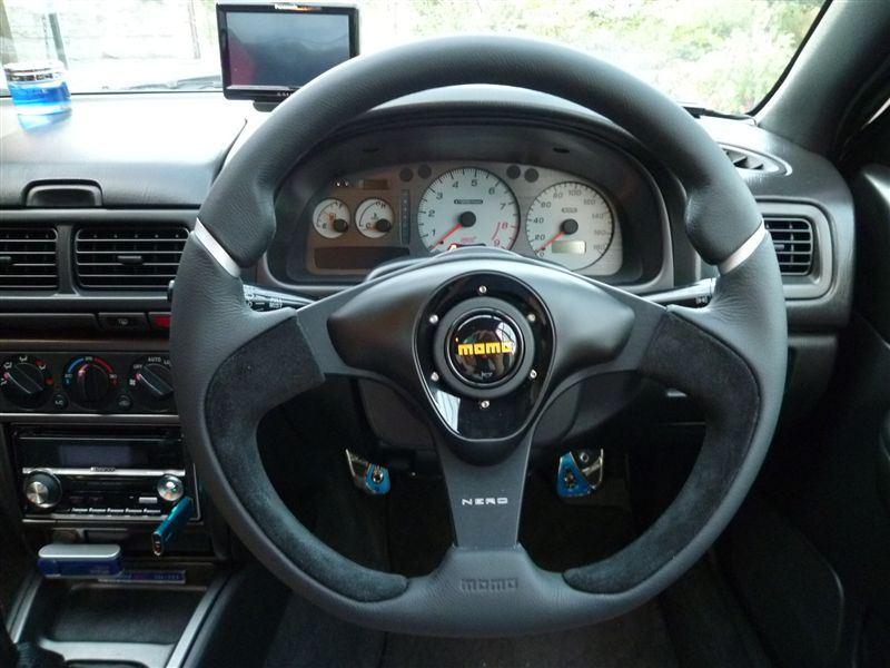 momo Nero Steering Wheel