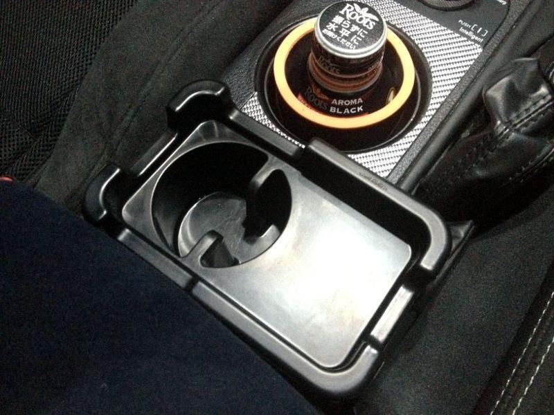 トレー 純正カップホルダー用 S ブラック / CZ339