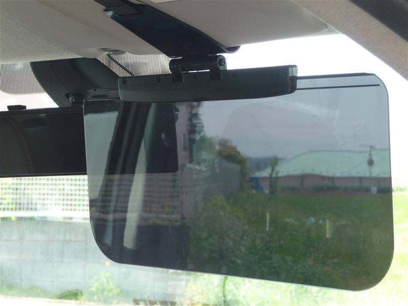 SZ-68 スライドバイザースクリーン4 スモーク/ブラック