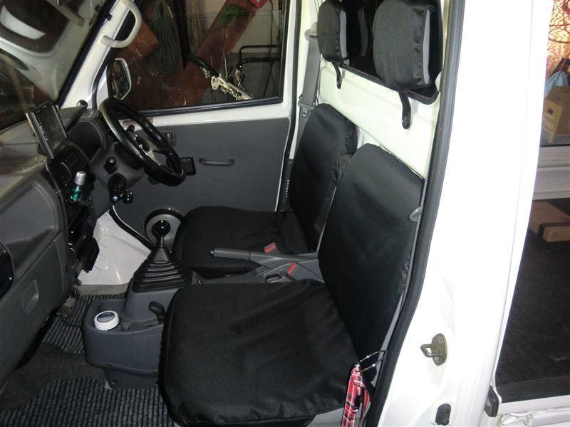 軽トラック専用 ドライビングシートカバー