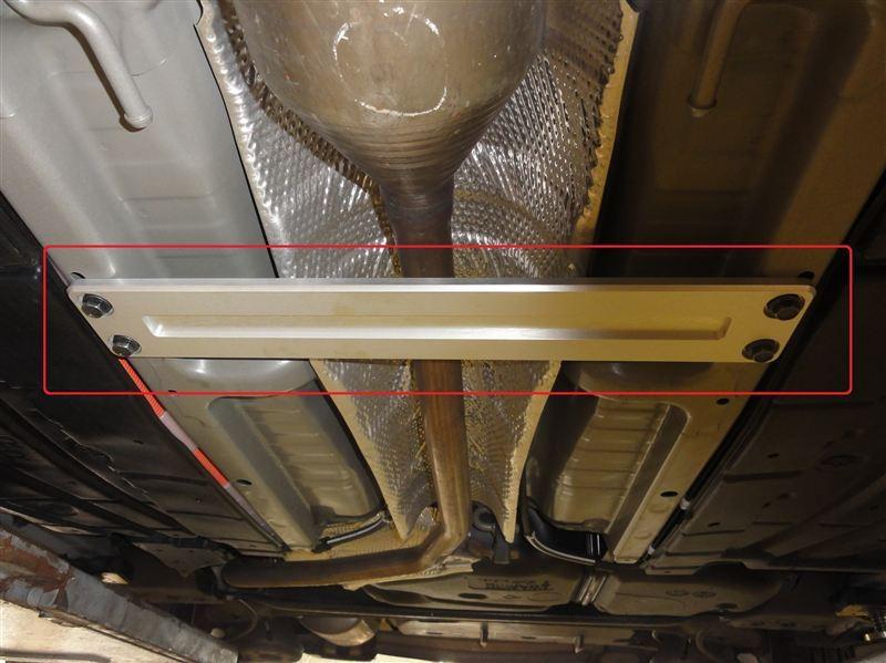 CENTER TUNNEL BRACE TYPEⅠ / センタートンネルブレースタイプ1