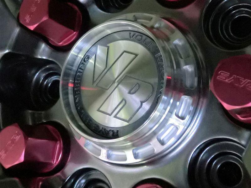VOLK RACING ボルクレーシング用センターキャップ フォーミュラタイプ
