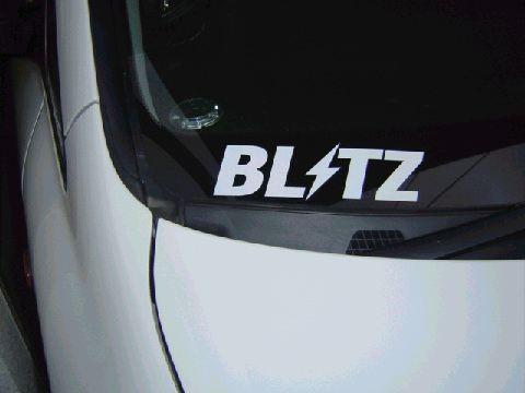 BLITZ BLITZ Logo sticker