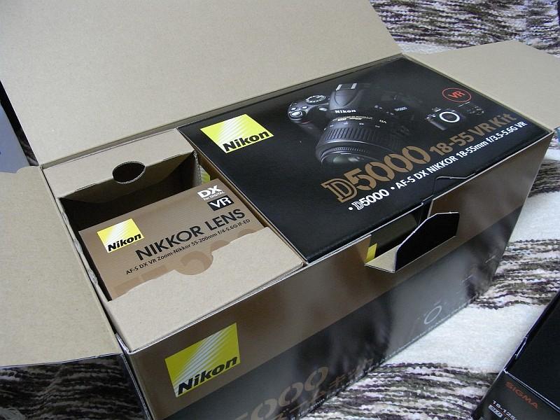 Nikon D5000 ダブルレンズキット