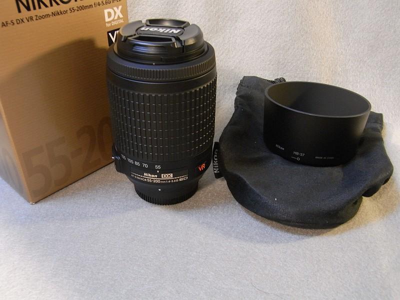 Nikon D5000 VR55-200