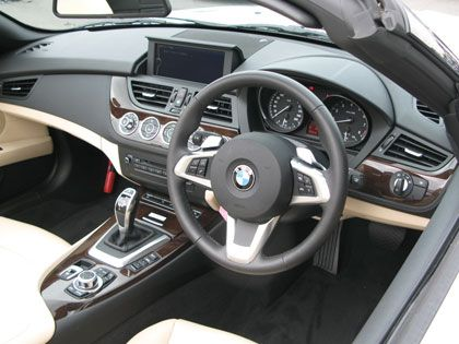 BMW Z4 sDrive35i (LM30) インテリア