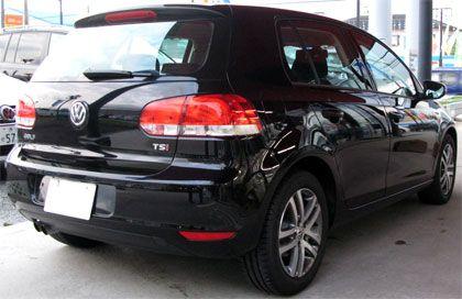 VW Golf VI TSI Comfortline (ABA-1KCAX) リアビュー