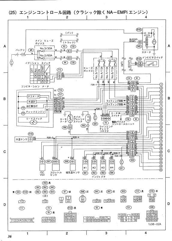 スバル 配線 図