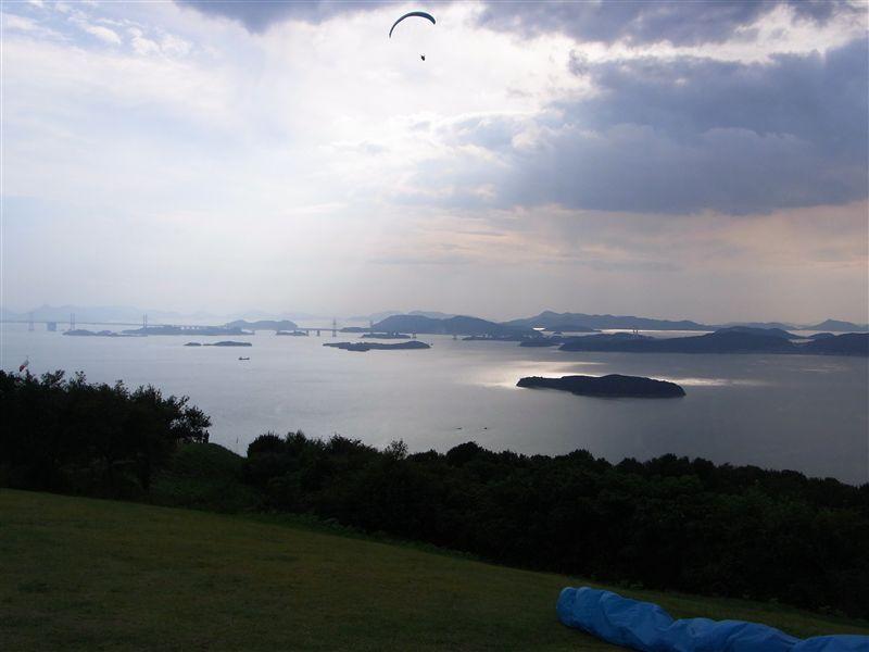 王子ヶ岳からの眺め、最高や~♪