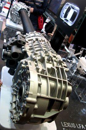 アイシン・エー・アイ製 Lexus LFA用 6速オートメーテッドシーケンシャルギアボックス