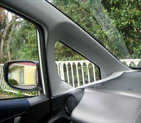 Honda Fit G (GE6) 三角窓