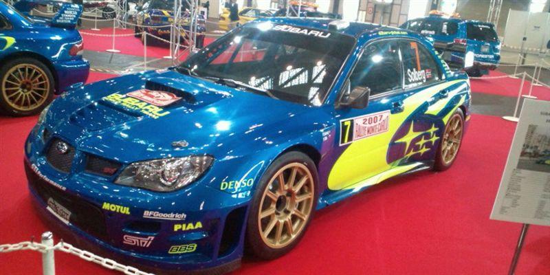 WRC<br /> <br /> SUBARU  WRC 2006<br /> <br /> 2007 MONTE CARLO