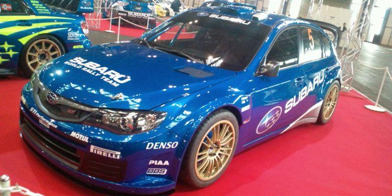 WRC<br /> <br /> SUBARU  IMPREZA WRC 2008<br /> <br />