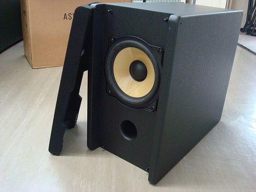 【ASW-2721L】<br /> AODEAのサブウーハーです。。<br /> <br /> 購入しましたが、今回のシステムに組み込まれなかったんで(^^;<br /> <br /> 一度バラして音を鳴らしてますので完全未使用品ではありません。。