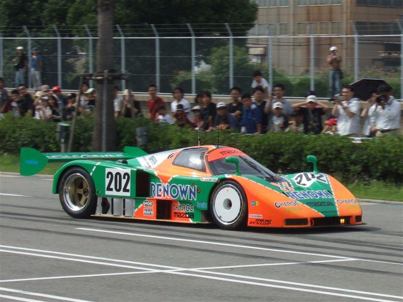 09/05/10 レースカー走行イベントinマリーナホップ♪(787B編)