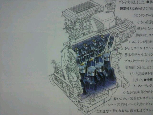 1990年、660規格に切り替わると、エンジンブロックの幅の関係上、ボアアップ不可能とされたEN05型はロングストローク化で排気量を拡大し、EN07型となった。<br /> <br /> このロングストローク化が、結果的に4気筒エンジンの弱点である低回転域のトルク不足を補う形となり、他社の3気筒と同等に渡り合える実用性能も兼ね揃える事となった。<br /> <br /> EN08型は、輸出仕様のスバル・レックスに搭載されていた758ccエンジン。<br /> <br /> 当初は550ccのEK23型と665ccのEK42型エンジンを搭載していたが、EN07型が登場すると、輸出仕様には新たにEN08型が搭載された。<br /> Subaru M80と呼ばれ、1992年までの2年少々製造された。<br /> <br /> <br /> EN07A型(NA・可変ベンチュリー・キャブレター)<br /> SOHC8バルブ<br /> 排気量:658cc<br /> 内径&#215;行程:56.0&#215;66.8<br /> 圧縮比:10.0<br /> <br /> 42ps/7,000rpm 5.3kg-m/4,500rpm。(KH3・4、レックス/KW3・4、ヴィヴィオ・バン<br /> <br /> <br /> EN08型(NA・可変ベンチュリーキャブレター) <br /> SOHC8バルブ <br /> 排気量:758cc<br /> 内径&#215;行程:56.0&#215;77.0<br /> 圧縮比:9.5<br /> <br /> 42ps/6,000rpm 6kg-m/3600rpm(Subaru M80)