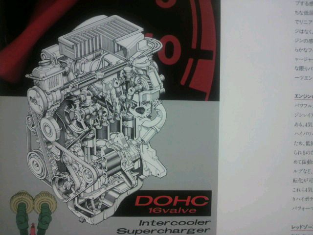 EN07X型(DOHC16バルブ・インタークーラー付スーパーチャージャー)<br /> <br /> ヴィヴィオRX-R用に開発されたDOHC16バルブヘッドを載せたモデル。<br /> <br /> バルブ駆動方式はダイレクトプッシュ式を採用。<br /> <br /> トヨタのハイメカツインカム同様、エキゾースト側のカムシャフトのみをタイミングベルトで駆動し、そこからバックラッシュギアでインテーク側のカムを駆動するという方式で、DOHCエンジンとしてはコンパクトなヘッドと言える。<br /> <br /> 許容回転数は9000回転以上に対応すべく、バルブリフターは直打式を採用する。<br /> <br /> 登場時はレギュラーガソリン仕様だったが、ヴィヴィオRX-Rの最終型からハイオク仕様となり、ステラではレギュラー仕様に戻っている。<br /> <br /> プレオの頃にはヘッドのウォーターラインが変更され、排気バルブの材質を変更。<br /> <br /> 欠点と言えた1番、2番シリンダーへの熱害にようやく対策が打たれた。<br /> <br /> 同時にLFピストンを採用し、オイルポンプの吐出量が増加して、クランク角センサーも装備。<br /> <br /> オイルパンステフナーも変更され、腰下の強度を上げている。<br /> <br /> ステラからはシリンダーブロックを変更し、ピストンもスカートを短縮。<br /> <br /> オーバーヒート対策からウォータージャケットが拡大され、ブロックも肉厚を薄くして単体で5キロの軽量化がされている。<br /> <br /> <br /> <br /> DOHC16バルブ インタークーラー付スーパーチャージャー<br /> 排気量:658cc<br /> 内径&#215;行程:56.0&#215;66.8<br /> 圧縮比:9.0<br /> <br /> 64ps/7,200rpm 9.0kg-m/4,000rpm(ヴィヴィオRX-R)<br /> <br /> 64ps/7,200rpm 10.8kg-m/3,200rpm(ヴィヴィオRX-R・E型)<br /> <br /> 64ps/6,400rpm 9.2kg-m/4,000rpm(ヴィヴィオのSSシリーズ)<br /> <br /> 64ps/6,000rpm 10.1kg-m/3,200rpm(プレオRS前期)<br /> <br /> 64ps/6,000rpm 10.5kg-m/3,200rpm(プレオRS&中期以降/R1&R2のS前期)<br /> <br /> 64ps/6,000rpm 9.5kg-m/4,000rpm(R1&R2のS後期/ステラ・カスタムRS/リベスタS/LS)<br />