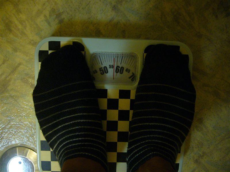 56キロ。