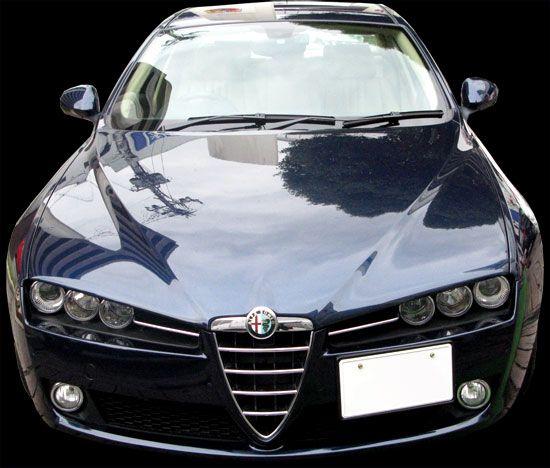 Alfa Romeo 159 フロント