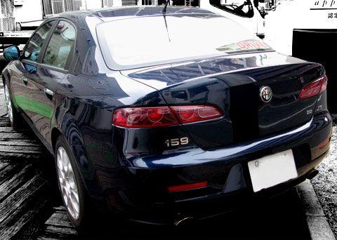 Alfa Romeo 159 リア