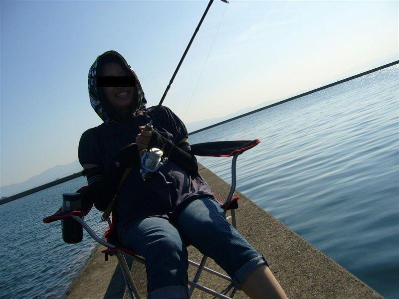 魚釣り~!