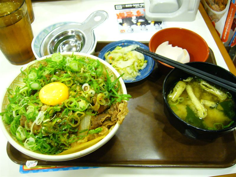 すき家の牛丼☆