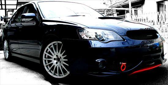 Subaru Legacy レガシィ B4 BL5A mistbahn