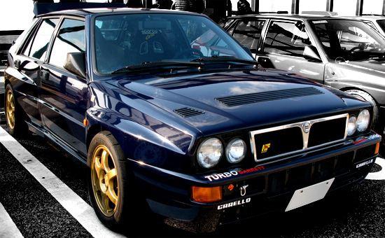 Lancia Delta ランチア・デルタ・インテグラーレ ランチア・ブルー