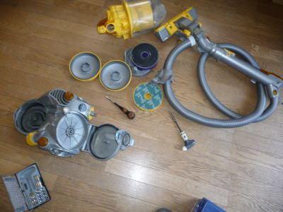 修理 ダイソン 掃除 機