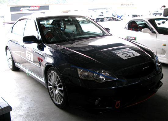 Subaru Legacy B4 (BL5A) Okayama Circuit