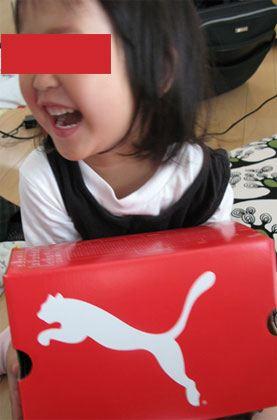 PUMA エクートキャットV Kids Ekuto Cat V