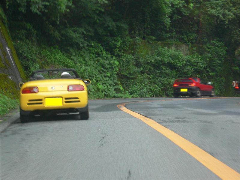 早朝の箱根の峠を駆け上がるABC♪<br /> <br /> 朝のオープンドライブ、最高です♪