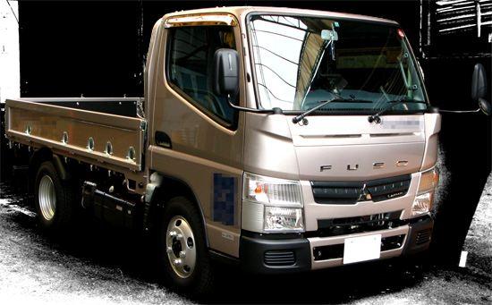 MFTBC(三菱ふそうトラック・バス株式会社)キャンター、Fuso Canter (SKG-FEA50)