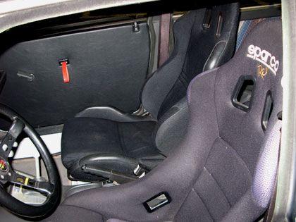 Lancia Delta HF Integrale 16v シート