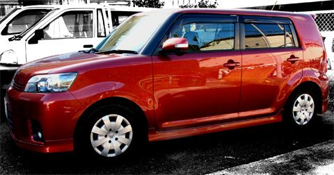 Toyota Corolla Rumion 1.8S (ZRE-152N) サイドビュー