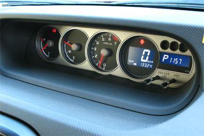 Toyota Corolla Rumion 1.8S (ZRE-152N) メータ回り