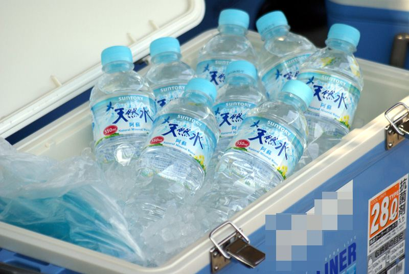 水分補給!