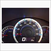 停止→加速まではブルー色のメーター照明。<br /> <br /> ここから変化がありますよ((o(´∀`)o))ワクワク