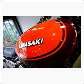 栄光の伝説が今蘇える。KAWASAKI ZⅡのガラスコーティング【ラディアス川崎】