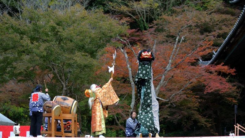 大宮神社 獅子舞