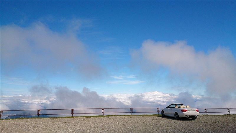 美ヶ原は雲の上♪