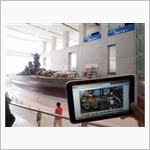 TAMAさんが持ってきたWindowsタブレットで艦これを起動して、記念写真w